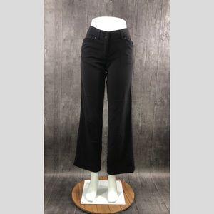 Lole Black Travel Pants Size 8